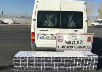 KAÇAK GÖÇMEN - Jandarma 3 Ayrı Operasyonda 21 Bin Paket Kaçak Sigara Ele Geçirdi