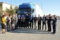 MÜSTAKİL SANAYİCİ VE İŞ ADAMLARI DERNEĞİ - Karaman'dan Suriye'ye Bir Tır Dolusu Gıda Yardımı