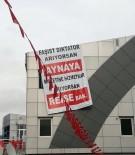 AÇILIŞ TÖRENİ - Kılıçdaroğlu'na Tekirdağ'da Pankartlı Tepki