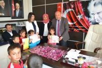 OKUL MÜDÜRÜ - Minik Öğrencilerden Bozyazı İlçe Milli Eğitim Müdürüne Ziyaret