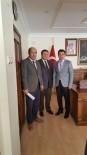 YASA TASARISI - SGK İl Müdürü Turan, Bulanık Kaymakamı Ve Belediye Başkan Vekili Uzan'ı Ziyaret Etti