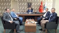 ADNAN DEMIR - Tarım Müdürü Yolcu, Dap İdaresi Başkanlığını Ziyaret Etti