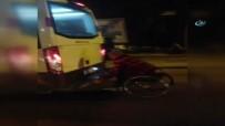 ENGELLİ VATANDAŞ - Tekerlekli Sandalyeyle Minibüse Asıldı