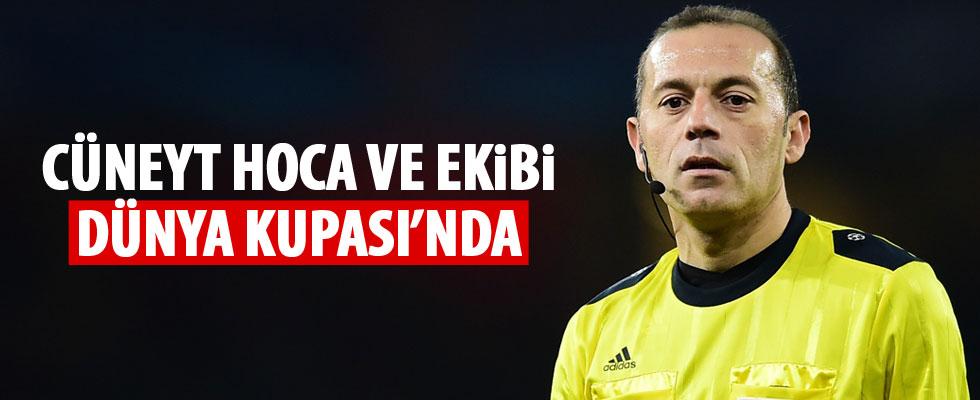Türk hakemler Dünya Kupası'nda