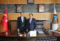 SAKARYA VALİSİ - Vali Balkanlıoğlu'ndan Başkan Alemdar'a Taziye Ziyareti