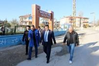 GAZİ MAHALLESİ - VASKİ Genel Müdürü Tekataş, Sorunların Çözümü İçin Mahalle Ziyaretlerine Devam Ediyor