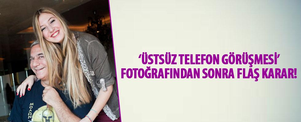 Yasmin Erbil'den 'üstsüz telefon görüşmesi' açıklaması!