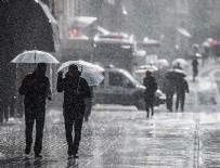 DOĞU AKDENİZ - Yeni haftada serin ve yağışlı hava etkili olacak