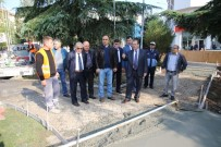 İSMAIL KURT - Bafra Meydanı Yenileniyor