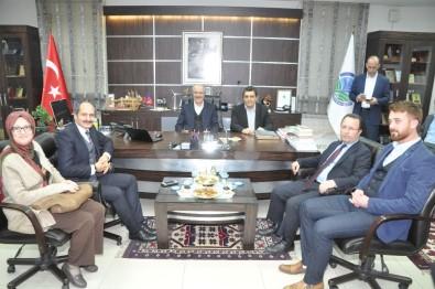 Başkan Kafaoğlu, Gönen'de Değerlendirmelerde Bulundu