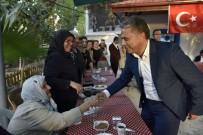 ÖLÜMSÜZ - Başkan Uysal, Vatandaşlarla Buluştu