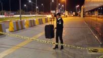 BATMAN HAVALİMANI - Batman Havalimanı'nda Bırakılan Şüpheli Valiz Paniğe Neden Oldu