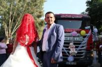 GELİN ARABASI - Fethiye'de Tır Gelin Arabası Oldu