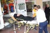 ERTUĞRUL GAZI - Otomobilin Çarptığı Yaşlı Kadın Yaralandı