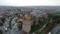 OKUL BİNASI - Restorasyonu Tamamlanan Aya Yorgi Rum Ortodoks Kilisesi Havadan Görüntülendi