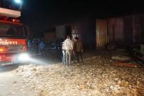 SAMANLıK - Samanlık Yangını İtfaiye Ekiplerince Söndürüldü
