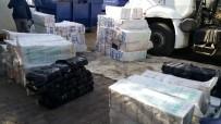 SIGARA - Şanlıurfa'da 31 Bin 910 Paket Kaçak Sigara Ele Geçirildi