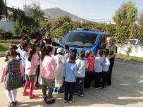 TRAFİK KURALLARI - Söke'de Öğrenciler Yazdıkları Şiirlerle Jandarmayı Duygulandırdı