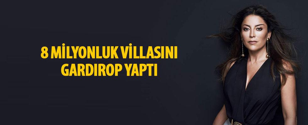 Aşkın Nur Yengi 8 milyonluk villasını gardırop yaptı