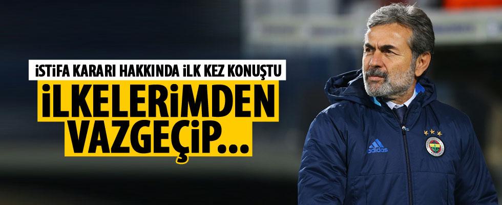 Aykut Kocaman istifasıyla ilgili konuştu