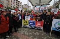 TERMİK SANTRAL - Çerkezköy Ve Kapaklı'da 'Termik Santral İstemiyoruz' Mitingi