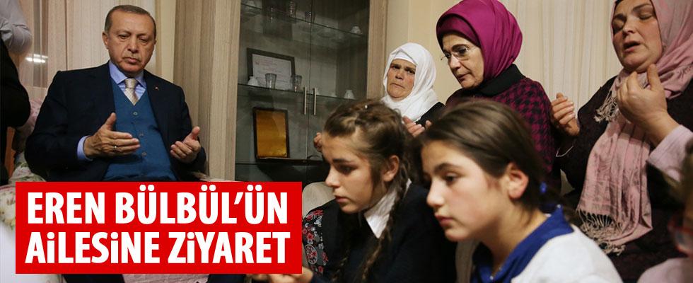 Cumhurbaşkanı Erdoğan'dan Eren Bülbül'ün ailesine ziyaret