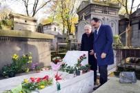 AHMET KAYA - Kalın, Ahmet Kaya'nın mezarını ziyaret etti