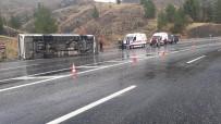 Elazığ'da Feci Kaza Açıklaması 1 Ölü, 30 Yaralı