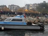 DENİZ POLİSİ - Kadıköy'de Denize Düşen Vatandaşın Cansız Bedenine Ulaşıldı