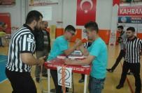 ENGELLİ SPORCU - Kahramanmaraş'ta Genç Erkekler Bilek Güreşi Şampiyonası
