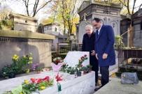 BAŞÖRTÜSÜ - Kalın, Ahmet Kaya'nın Mezarını Ziyaret Etti