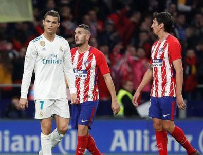Madrid derbisi Barcelona'ya yaradı