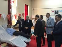 İLÇE MİLLİ EĞİTİM MÜDÜRÜ - Okullar Kan Bağışı Yarışında