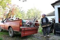HISAREYN - 71 Yaşındaki Fatma Teyze Kamyonet Kullanarak Semt Pazarlarına Ürün Taşıyor