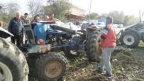 Sinop'ta Traktör Devrildi Açıklaması 1 Ölü