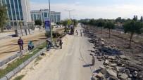 ADLIYE SARAYı - Adana'da Asfalt Çalışmaları Sürüyor