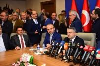 BAYRAK YARIŞI - AK Parti'nin Bursa'da Başkan Adayı Aktaş