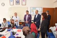EL EMEĞİ GÖZ NURU - Başkan Bakıcı Halk Eğitim Kursiyerleri İle Bir Araya Geldi