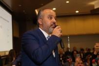 BAŞKANLIK SEÇİMİ - Bursa'nın Yeni Başkanı Alinur Aktaş Oldu