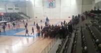 BASKETBOL MAÇI - Kilis'te Liseler Arası Basketbol Maçında Kavga Çıktı