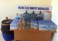 DAMACANA - Manisa'da Kaçak İçki Operasyonu