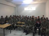 YAKIT TASARRUFU - Mehmetçiğe Kazan Yakma Eğitimi
