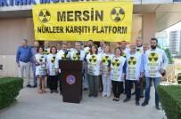 DANıŞTAY - Nükleer Karşıtları, Bedenleriyle 'Mersin Nükleere Hayır Diyor' Yazacak