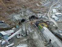 OVİT TÜNELİ - Ovit Tüneli'nde sona doğru