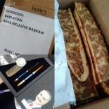 ETLI EKMEK - Sosyal Medyadan 'Etli Ekmek' İstedi Başkan Aydın Gönderdi
