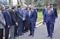 DİYARBAKIR VALİSİ - Vali Güzeloğlu'ndan Başkan Atilla'ya Ziyaret