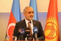 TÜRK KÜLTÜRÜ - Yalçın Topçu 'Türkistan'dan Anadolu'ya İrfan Mektebinin Hocaları' Paneline Katıldı