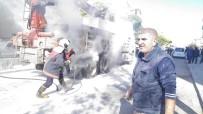 KASKO - Yangını Gören Vatandaşlar Yangın Tüpleriyle Müdahaleye Koştu