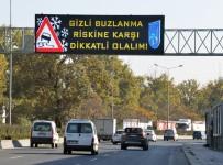 ÜÇPıNAR - Yollarda 'Gizli Buzlanma' Uyarısı