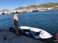 TURGUTREIS - Yunanistan'a Kaçmaya Çalışan 16 Göçmen Yakalandı